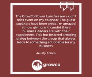 Entrepreneurship Lessons from power lunches